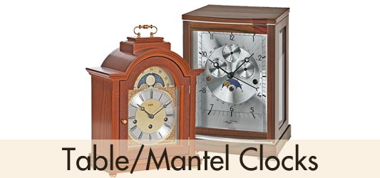 BilliB Table Mantel Clocks