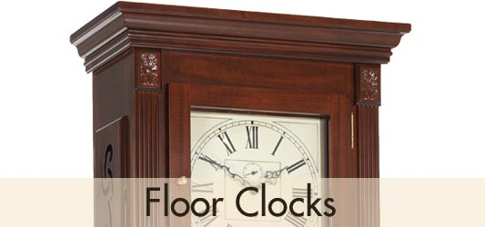 BilliB grandfather and grandmother floor clocks