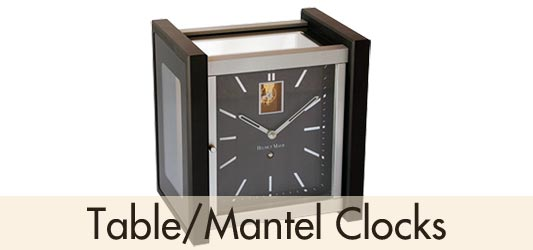 Helmut Mayr Table Mantel Clocks