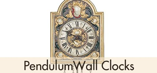 Helmut Mayr Pendulum Wall Clocks