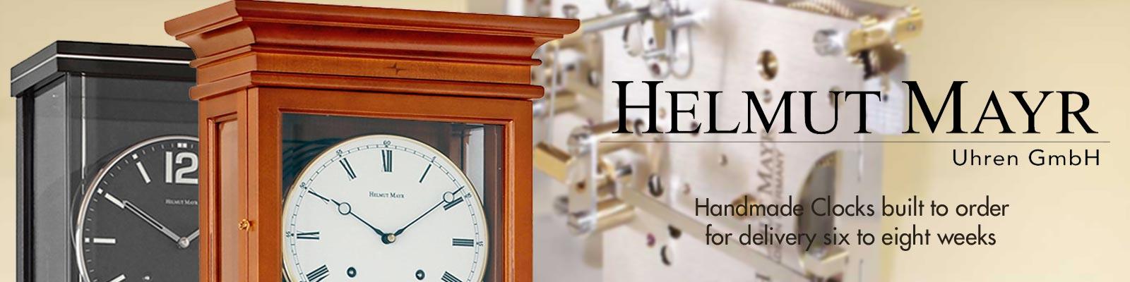 Helmut Mayr handmade clocks