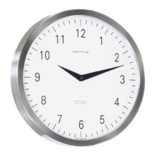 Hermle 30466-002100 Stainless Steel wall clock