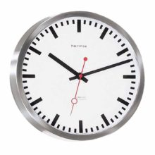 Hermle 30471-002100 Stainless Steel wall clock