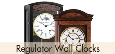 Hermle Regulator Wall Clocks