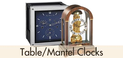Hermle Table Mantel Clocks