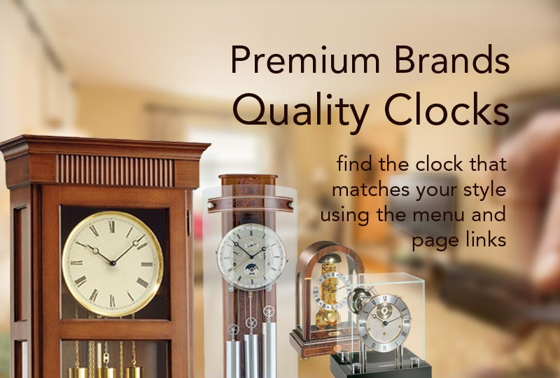 Premium brands Quality clocks