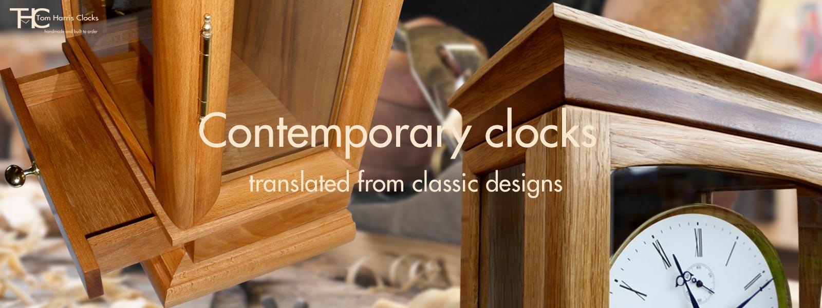 tom harris clocks contemporary clocks