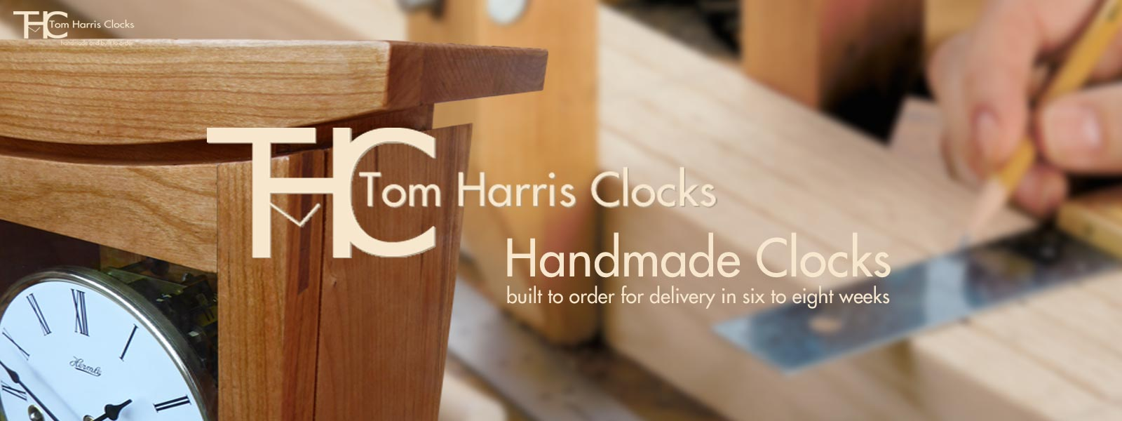 tom harris clocks - handmade clocks