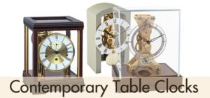 Contemporary Table Clocks
