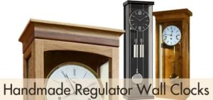 Handmade Regulator Wall Clocks