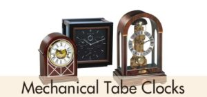 Mechanical Table Clocks