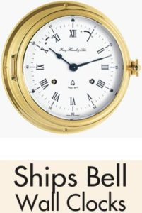 Ships Bell Wall Clock