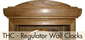 THC - Regulatoir Wall Clocks