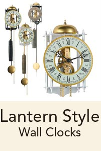 Lantern Wall Clocks