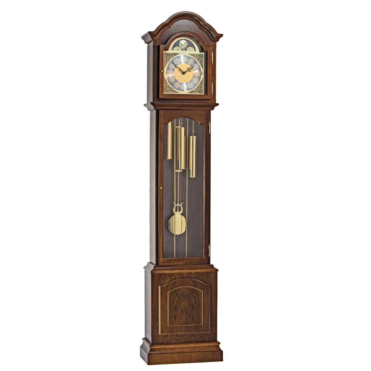 Glenhaven-Walnut-Grandfather-Floor-Clock