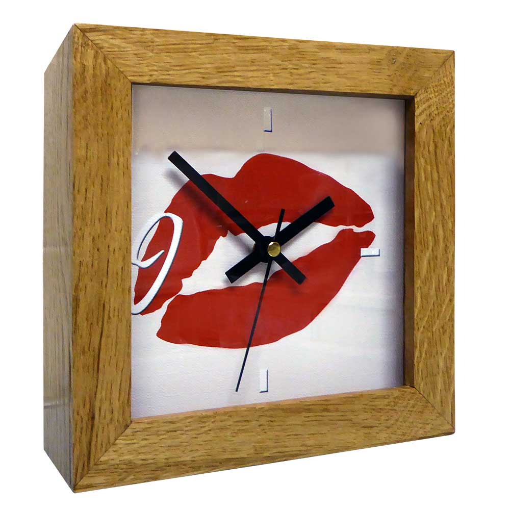 Kiss Mantel Clock
