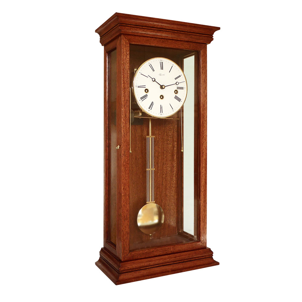 Cardowan-SG-Mahogany Regulatoer Wall Clock