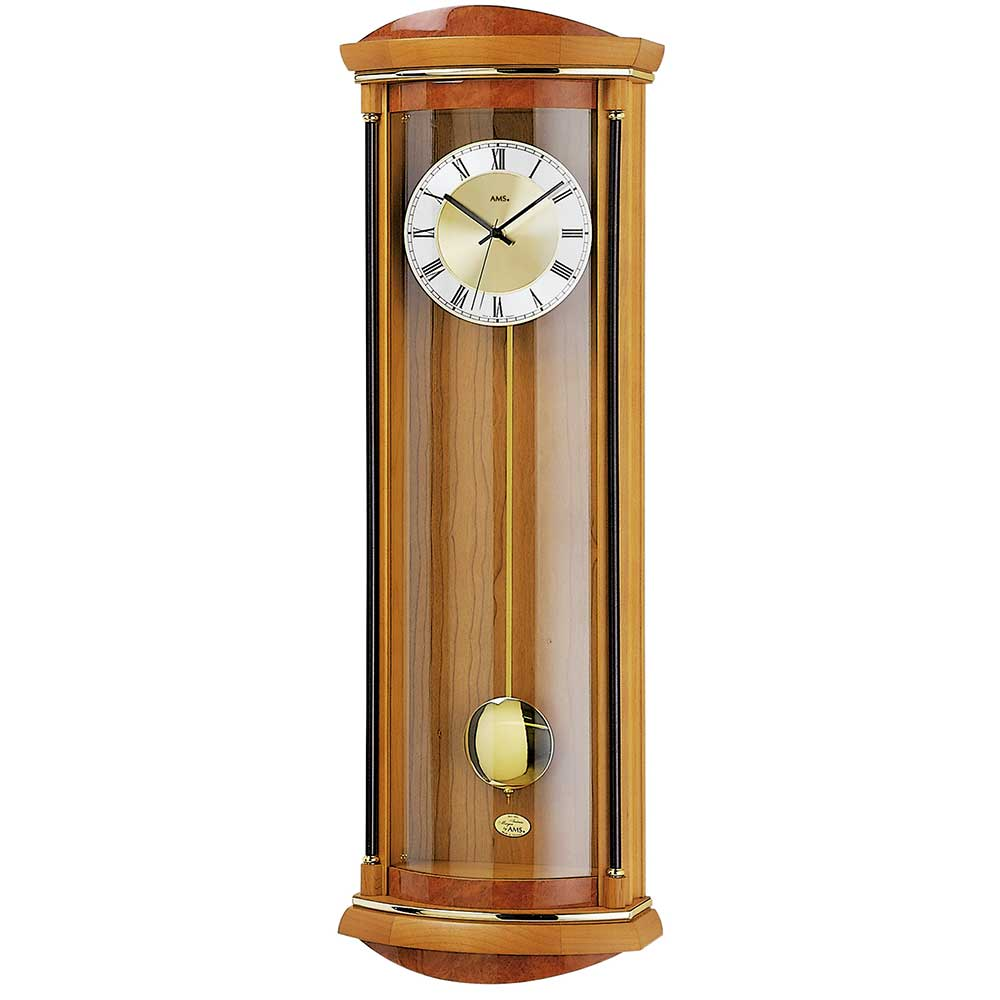AMS 7080-9 Quartz Pendulum Clock with ChimeAMS 7080-9 Quartz Pendulum Clock with ChimeAMS 7080-9 Quartz Pendulum Clock with ChimeAMS 7080-9 Quartz Pendulum Clock with ChimeAMS 7080-9 Quartz Pendulum Clock with Chime