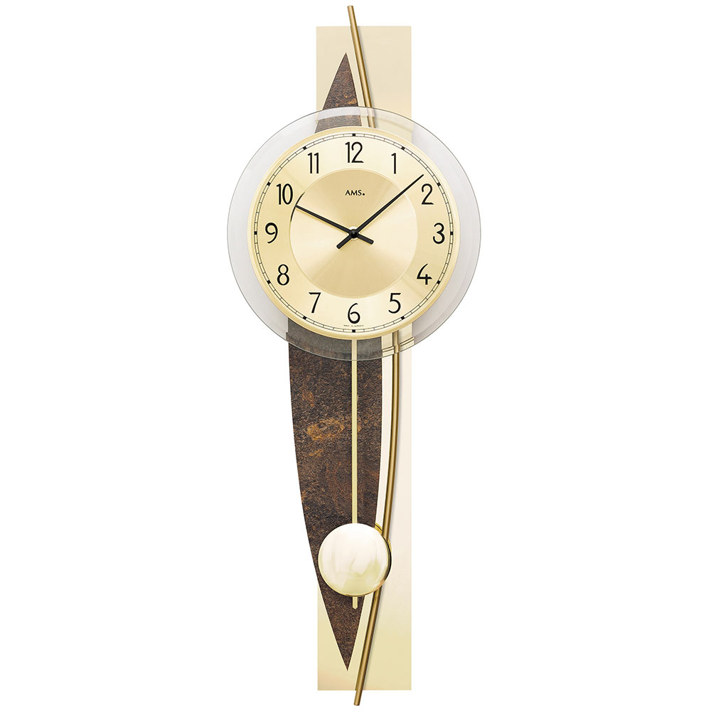 AMS 7453 Quartz-Pendulum ClockAMS 7453 Quartz-Pendulum ClockAMS 7453 Quartz-Pendulum ClockAMS 7453 Quartz-Pendulum ClockAMS 7453 Quartz-Pendulum Clock