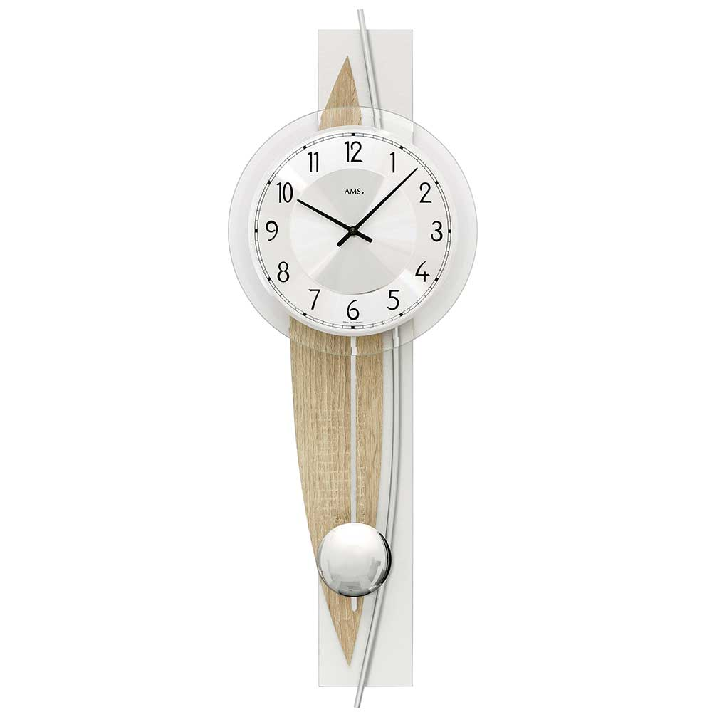 AMS 7455 Quartz-Pendulum ClockAMS 7455 Quartz-Pendulum ClockAMS 7455 Quartz-Pendulum ClockAMS 7455 Quartz-Pendulum ClockAMS 7455 Quartz-Pendulum Clock