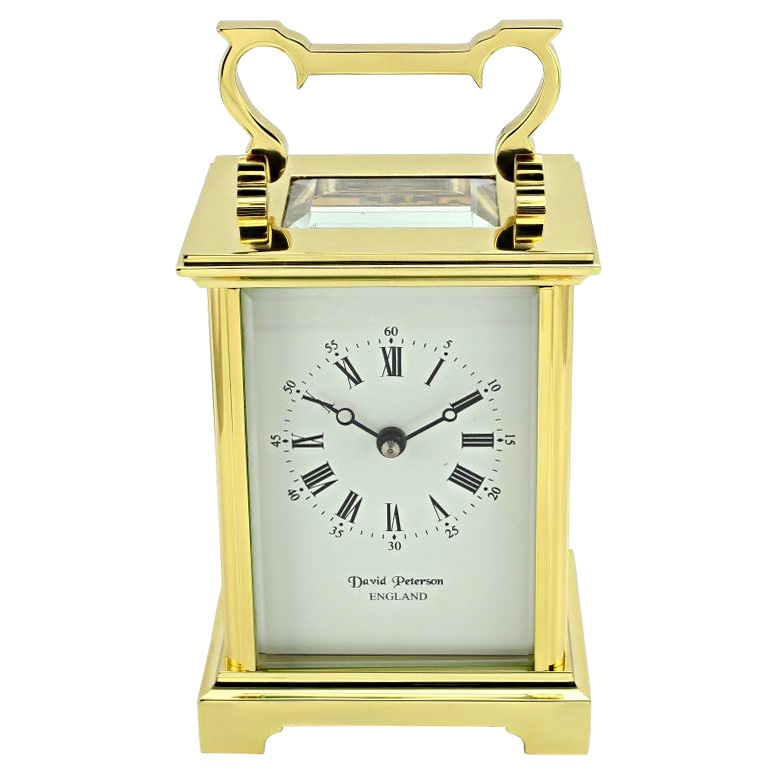 David Perterson Carriage Clock DP-AG-sk