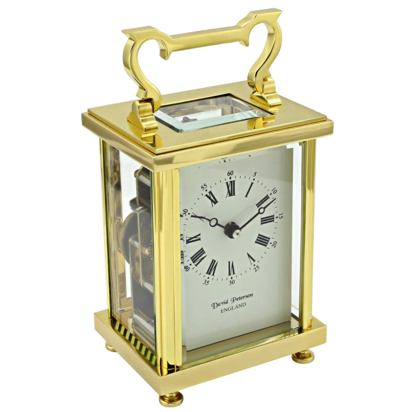 David Perterson Carriage Clock DP-FB-sk