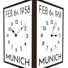 Munich-Commeraration-Wall-Clock