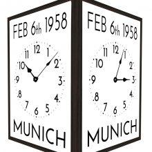 Munich-Commeraration-Wall-Clock