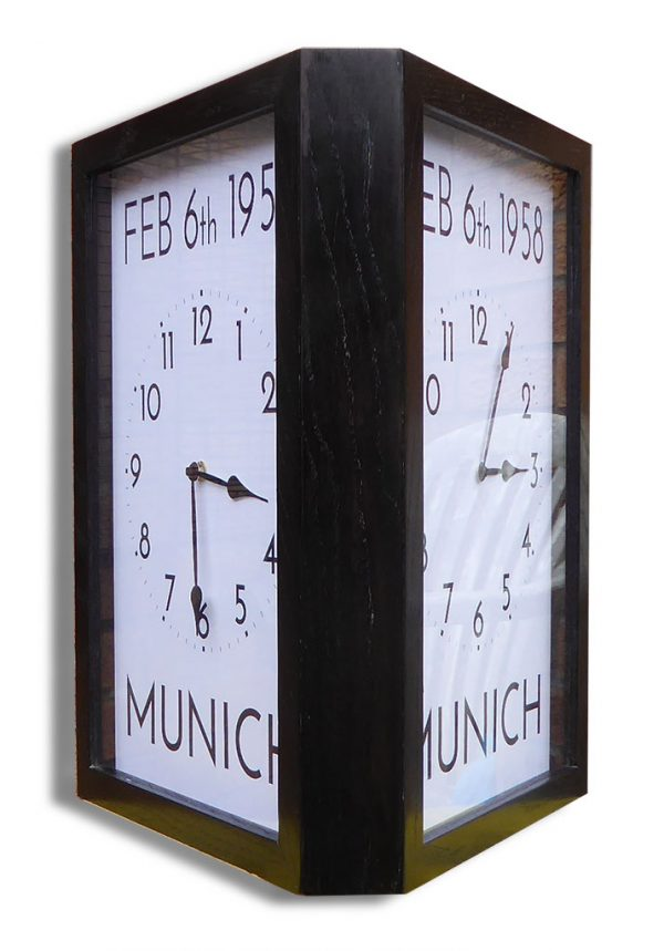 Munich Commemoration Wall Clock