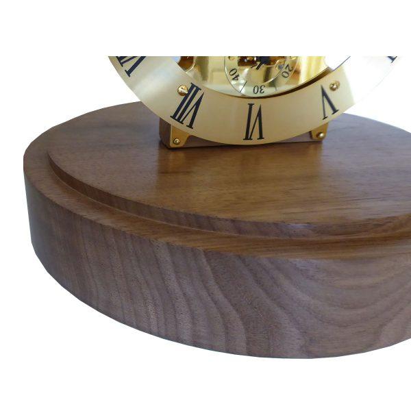 Lydney quartz skeleton clock base-view