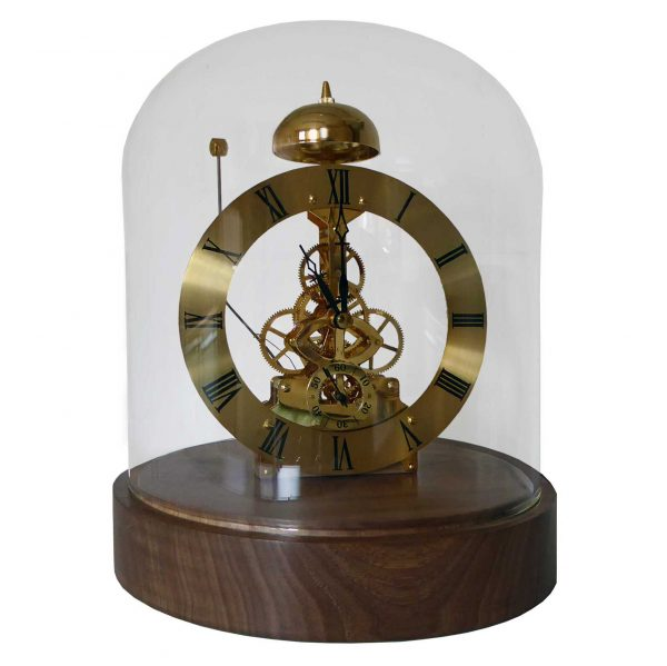 Lydney-quartz skeleton clock THC