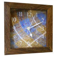 Tweed Wood Mantel Clock
